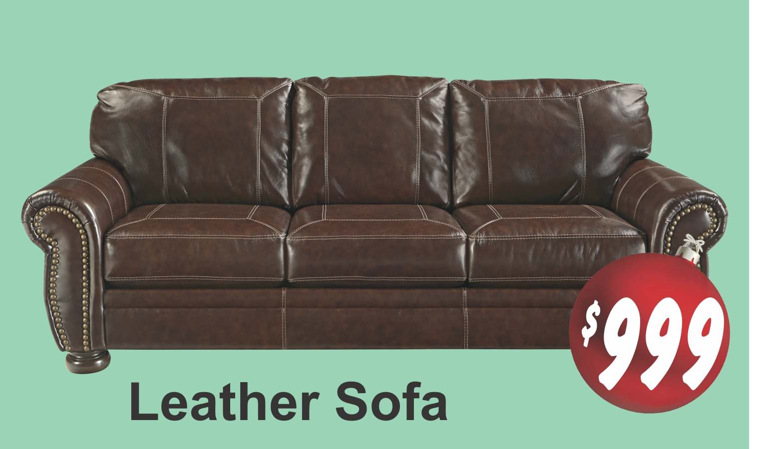 Leather Sofa-1