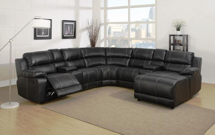 Belair Brown Motion Chaise Sectional,Lifestyle