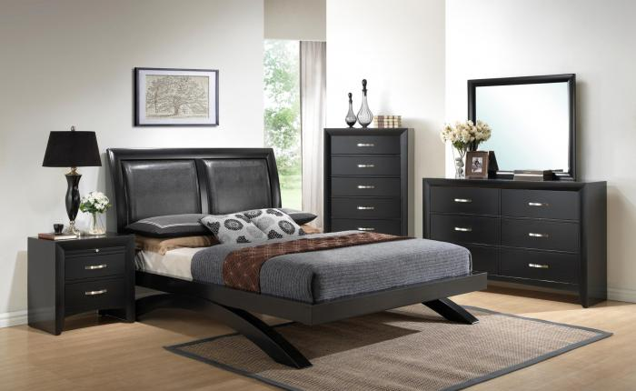 Galinda Queen Platform Bed,Crown Mark Furniture