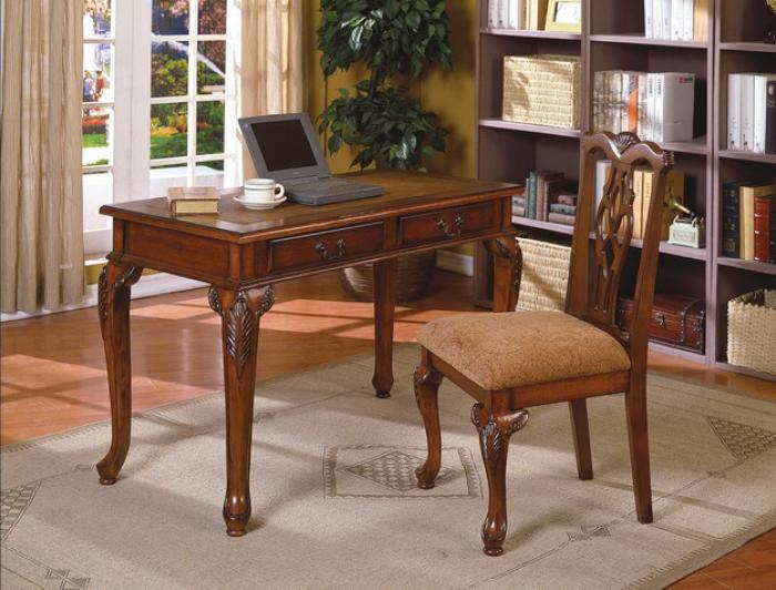 Fairfax Home Office Desk And Chair,Crown Mark Furniture