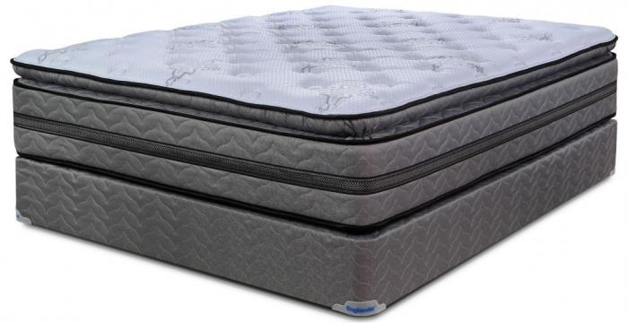 victor plush pillowtop queen mattress u0026 mattress