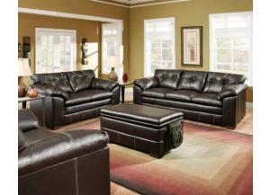 Premier Chocolate Sofa & Loveseat