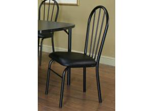 Ebony Side Chairs (set of 4)