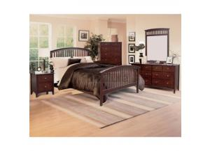Lawson Cherry Queen Bed