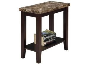 Ferrara Faux Marble Accent Table