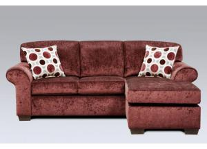 Elderberry Prism Chaise Sectional