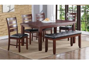 Home Source 6 Piece Dinette