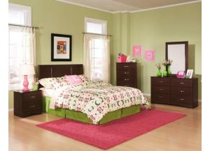 Briar Cherry Twin Panel Headboard
