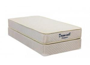 NJDI UF000 PROMO Queen Mattress & Foundation,Dream Well Bedding