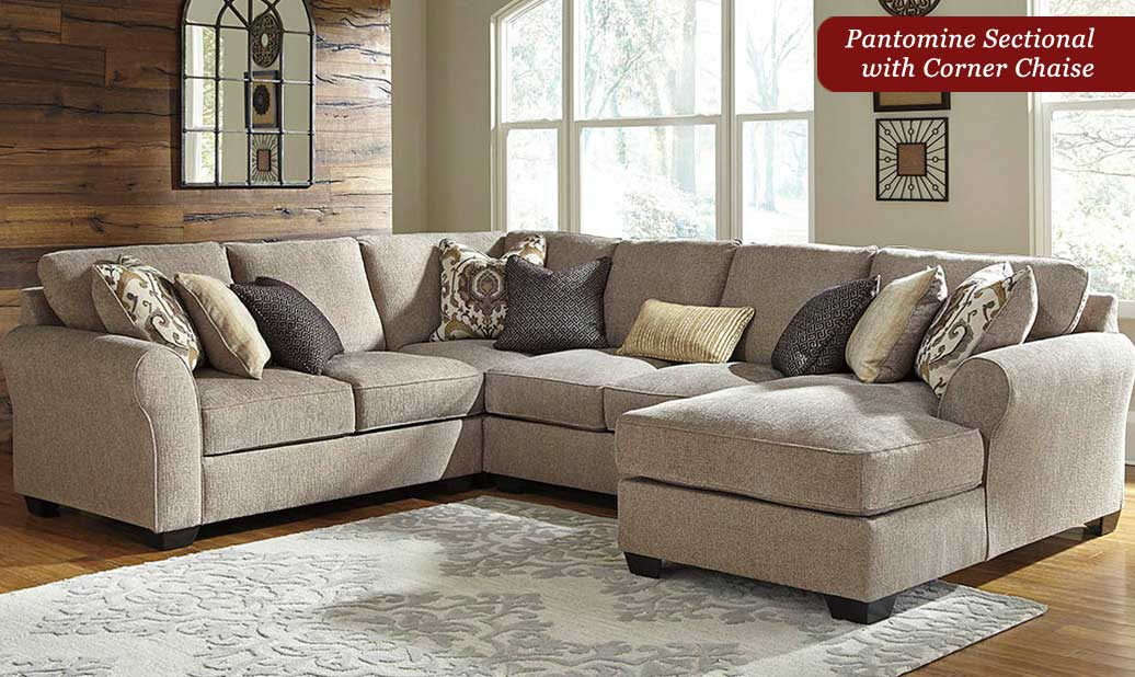 Pantomine Driftwood Sectional