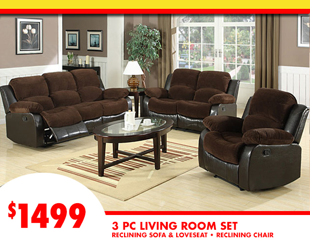Reclining Living Room Set