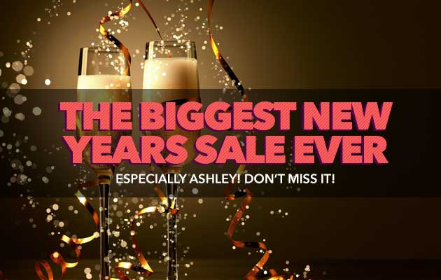 The Biggest New Years Sale Ever!