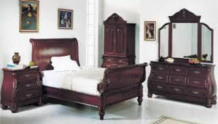 Sierra Sleigh 5 Piece King Bed Set,Smart Buys Catalog