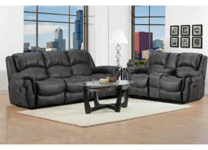 Behold Home Black Sofa & Loveseat