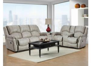 Behold Home Beige Sofa & Loveseat Set