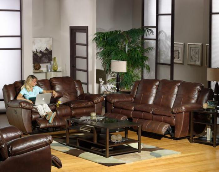 Sonoma Sable Reclining Sofa,Catnapper