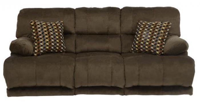 Riley Coffee Reclining Sofa,Catnapper