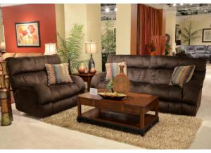 Siesta Chocolate Reclining 3 Piece Sectional