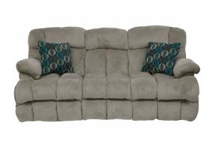 Concord Smoke Reclining Sofa
