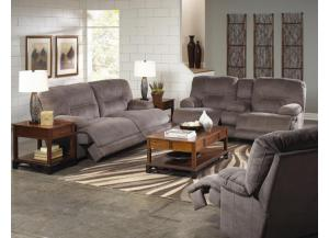 Noble Slate Reclining Sofa