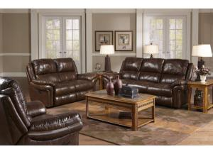 Benson Timber Power Reclining Sofa