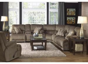 Riley Musk 3 Piece Reclining Sectional