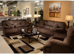 Riley Coffee Reclining 3 Piece Sectional