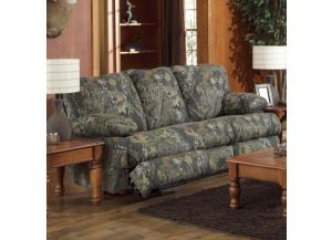 Wintergreen Mossy Oak Break Up Reclining Sofa