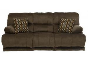 Riley Coffee Reclining Sofa