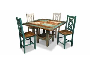 Bombay Counter Table And 4 Stools