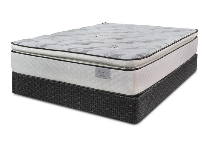 Heartland Pillow Top King Mattress w/ Foundation,Symbol Mattress
