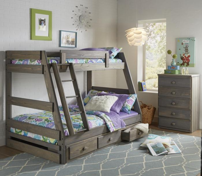 Twin/Full Bunk Bed,Simply Bunk Beds