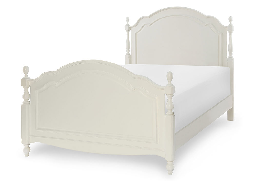 White poster bed full size