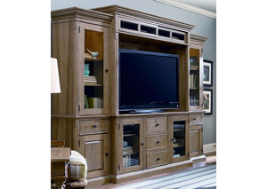 Paula Deen Down Home Oatmeal Entertainment Wall Unit