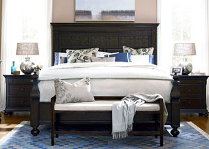 Paula Deen Down Home Molasses Panel King Bed