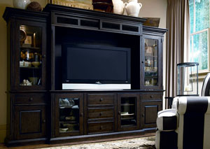 Paula Deen Down Home Molasses Entertainment Wall Unit