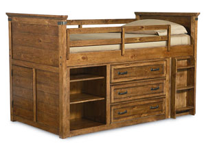 Bryce Canyon Heirloom Pine Mid Loft Twin Bed