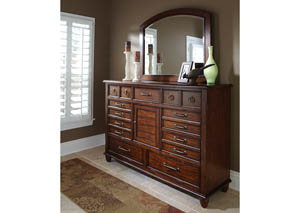 Blue Ridge Dresser with Mirror