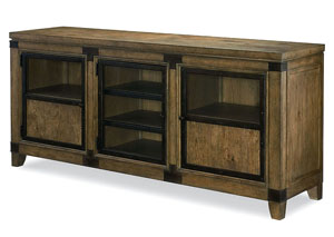 Metalworks Factory Chic Entertainment Console