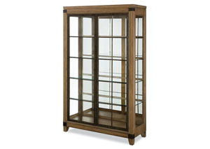 Metalworks Factory Chic Bunching Display Cabinet