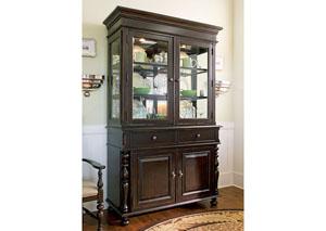 Paula Deen Tobacco Buffet/Hutch