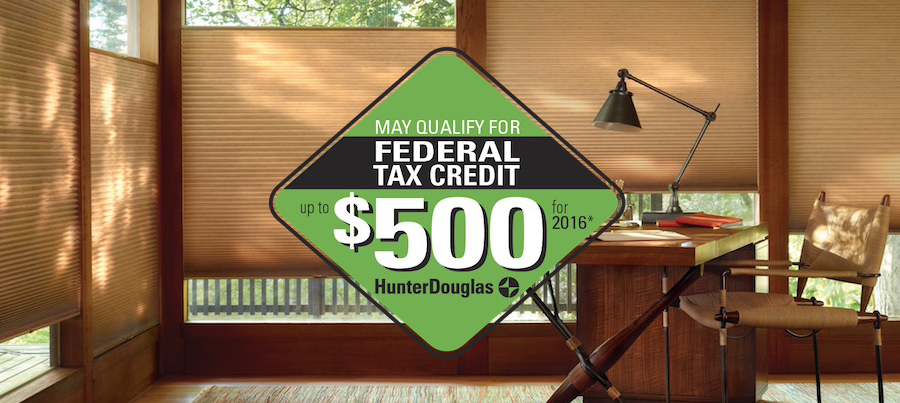 Federal Tax Credit for Window Treatments