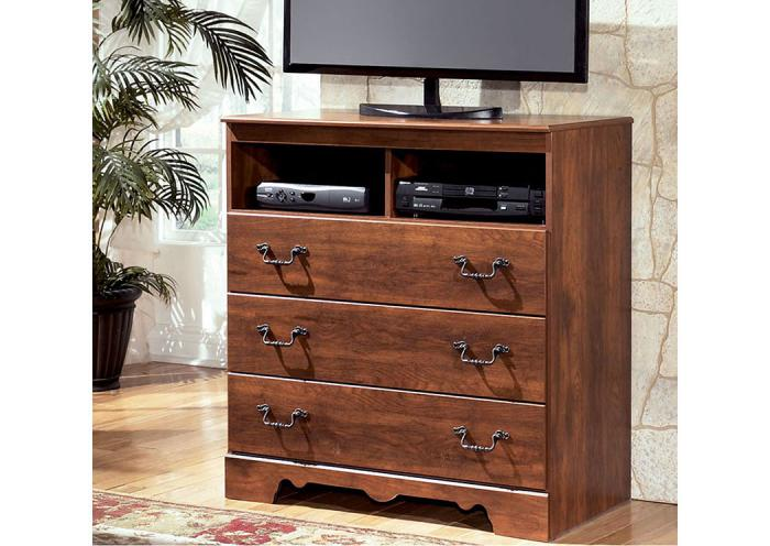 MB33 Warm Cherry Media Chest,Taft Furniture Showcase