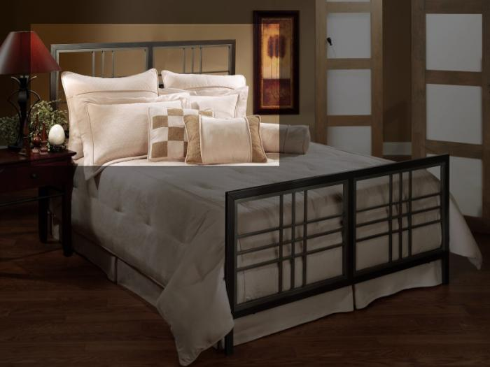 Tiburon King Metal Headboard,Taft Furniture Showcase