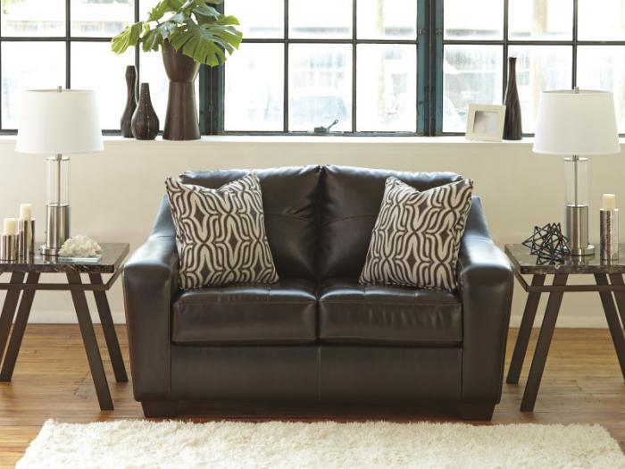 Taft Furniture & Sleep Center Starla Leatherblend Loveseat