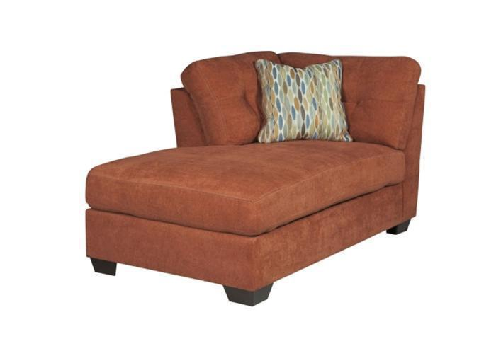 LR47 Rust LAF Corner Chaise from the High Energy Collection,Taft Furniture Showcase