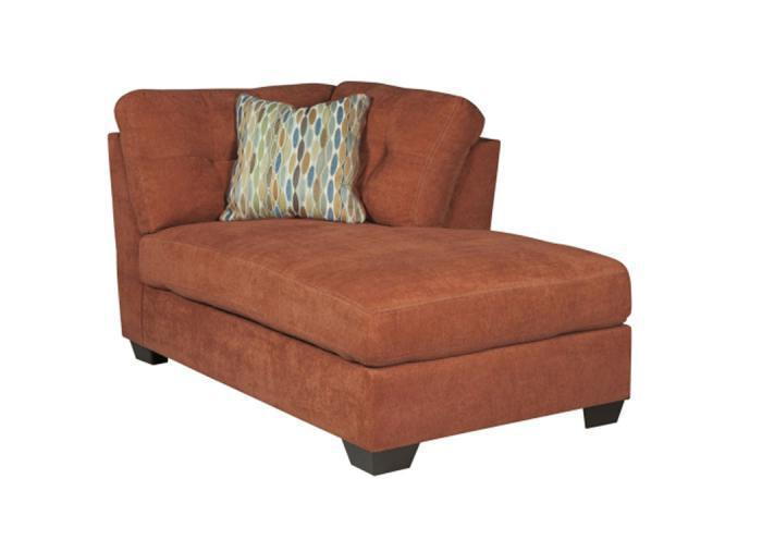 LR47 Rust RAF Corner Chaise from the High Energy Collection,Taft Furniture Showcase