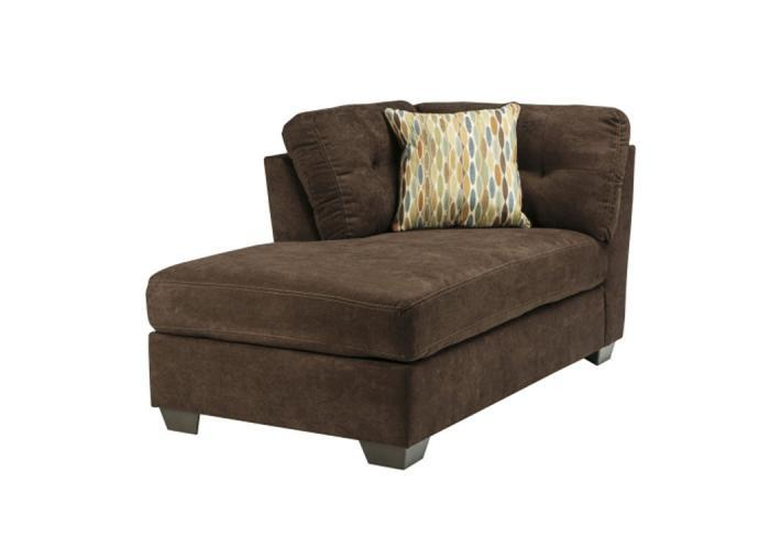 LR47 Chocolate LAF Corner Chaise from the High Energy Collection,Taft Furniture Showcase