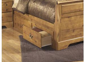 MB9 Light Pine Country Underbed Storage Unit