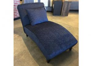 Silhouette Navy Chaise